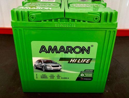แบตเตอรี่ Amaron HiLife 42B20L แบตแห้ง รับประกัน 2ปี